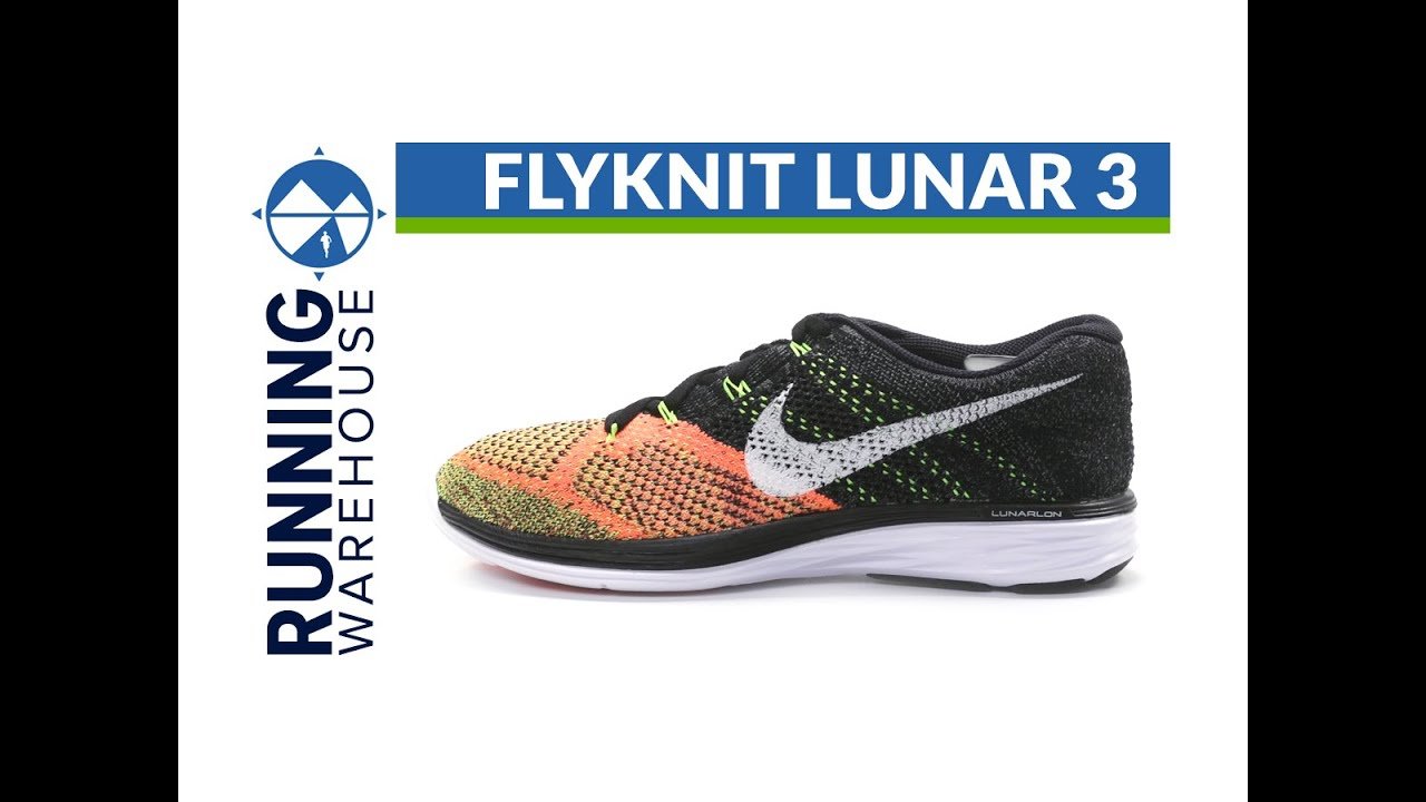 bff2204e60414 Nike Flyknit Lunar 3 for men - YouTube
