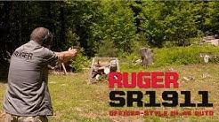 Ruger® SR1911® Officers-Style  .45