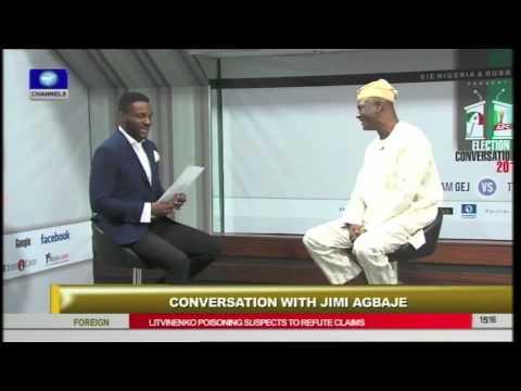 Jimi Agbaje on Channels Television's Rubbin' Minds