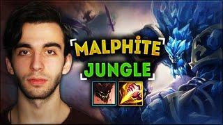 Ap Malphite Jungle | Ormanın 50 Tonu
