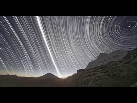 Star Trails At The Equator, The Universe Is A Rotating Ball(research Tycho Brahe)
