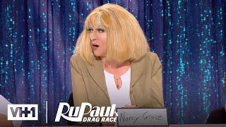 RuPaul's Drag Race (Season 8 Ep. 5) | Snatch Game: Part 1 w/ Gigi Hadid & Chanel Iman | Logo