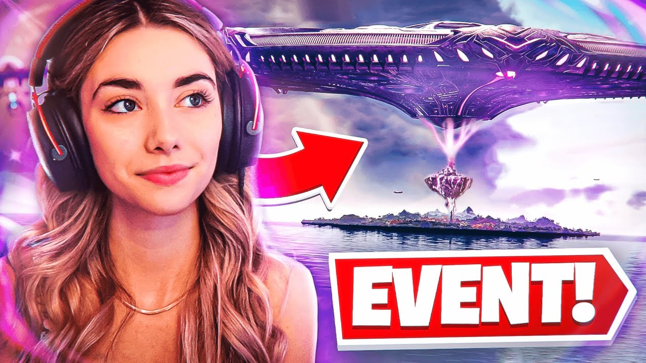 Fortnite Operation Sky Fire Event Reaction! (Map is DESTROYED!)