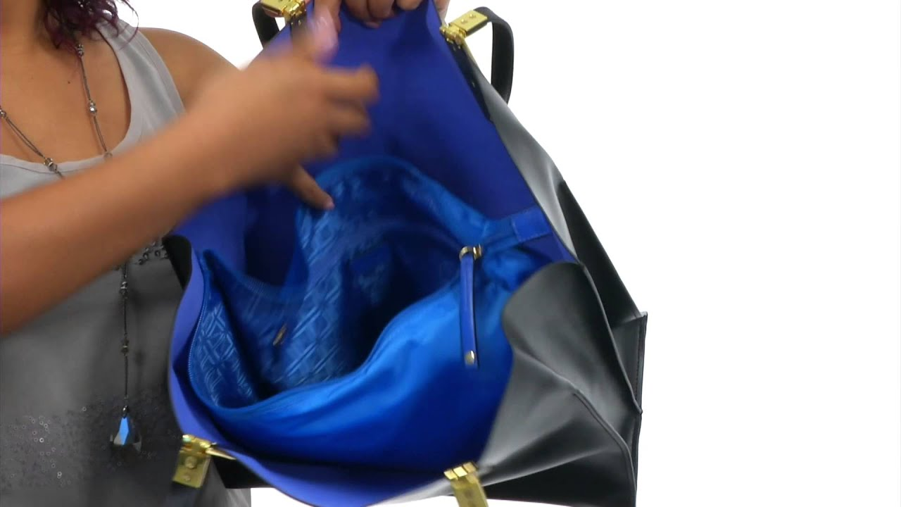 1e7c5134d7 Lodis Accessories Blair Unlined Lucia Travel Tote SKU 8559533 - YouTube