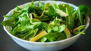 Салат со шпинатом и сыром. Простые рецепты от wowfood.club