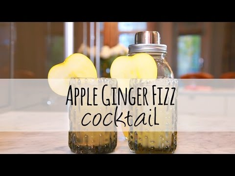 Apple Ginger Fizz: The perfect winter cocktail recipe | One Hungry Mama
