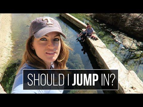 Texas Swimming Holes - Blue Hole - Jacob's Well - Hamilton Pool - RV Living