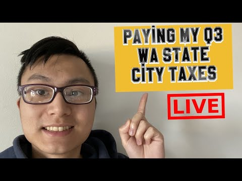 How To File Washington State/Local Taxes Quarter 3 Amazon/eBay Sales   Reselling Taxes