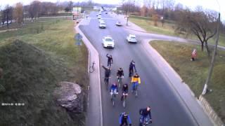 Вело пробег по городу Барановичи. Критическая масс