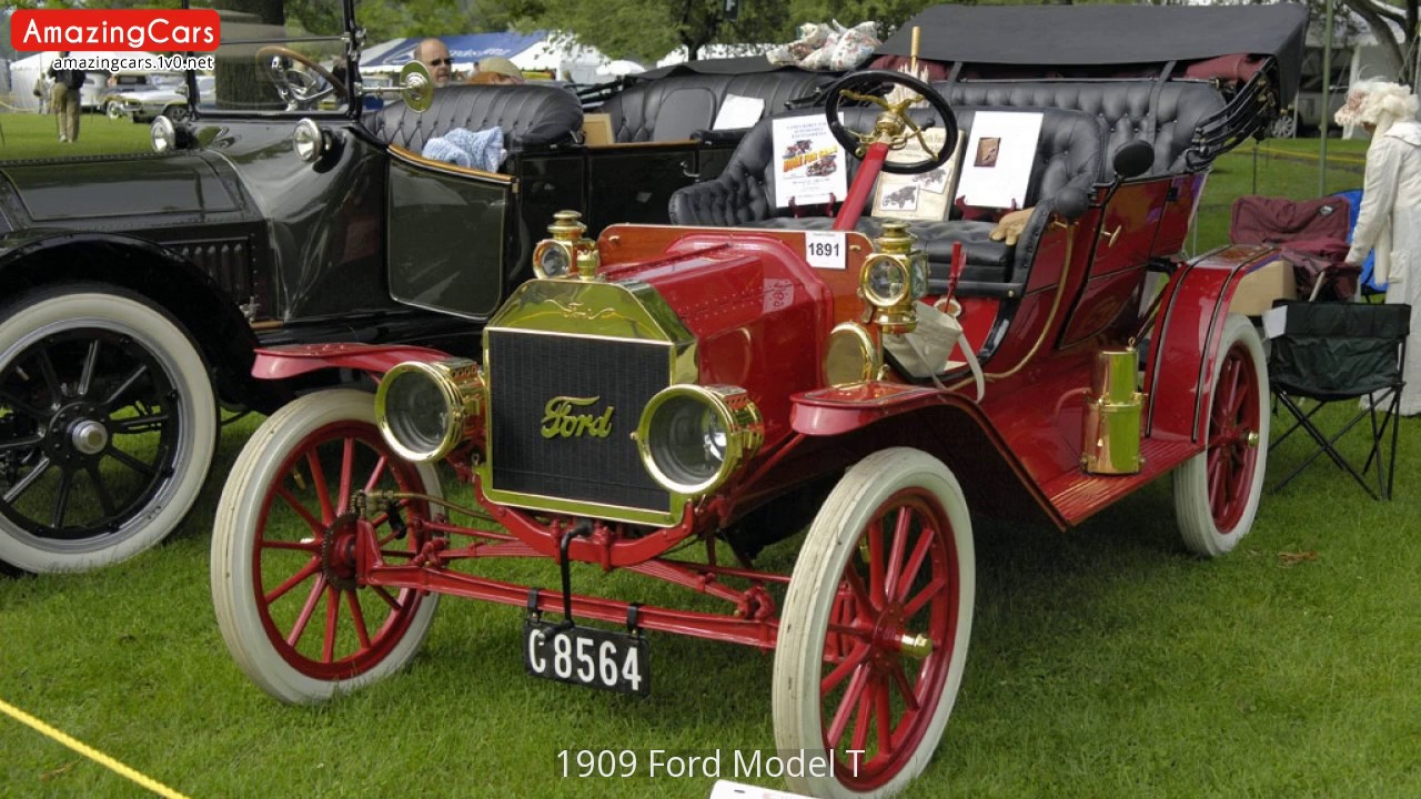 1909 Ford Model T   YouTube