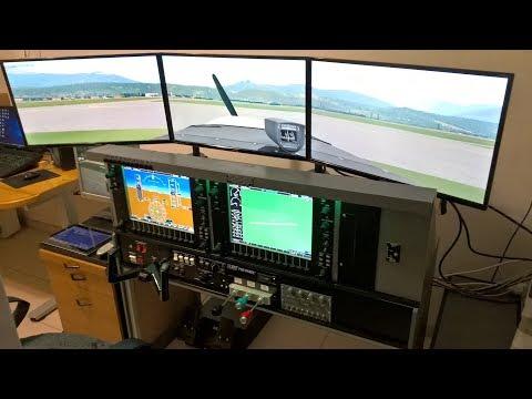 Flight Simulator Cockpit X-Plane [Cessna Skyhawk 172SP NAV III G1000]