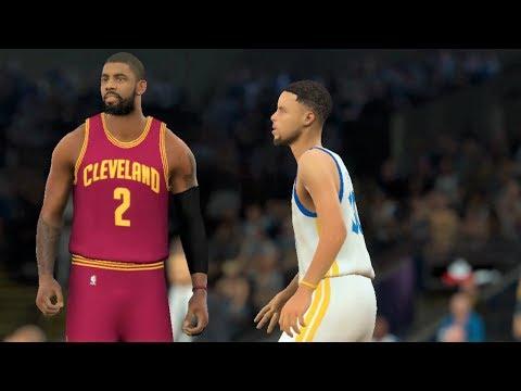 Cleveland Cavaliers vs. Golden State Warriors NBA Finals 2017 - NBA 2K17