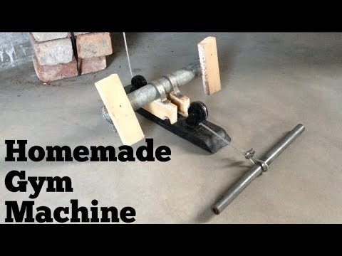 Homemade gym machine for wings workout (part 3)
