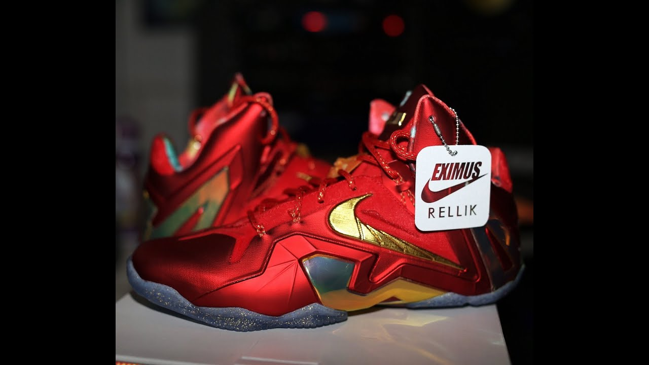 low priced c1031 1439f 11 XI Nike Lebron XI Elite SE Unboxing HD August 6, ...