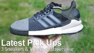 latest pick ups   3 sneakers 1 piece of streetwear