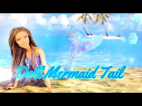 DIY - How to Make: Doll Mermaid Tail - Handmade - Doll - Crafts