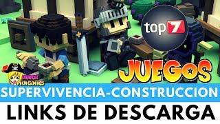 TOP 7 JUEGOS DE SUPERVIVENCIA - CONSTRUCCIÓN Y GESTIÓN DE COLONIAS