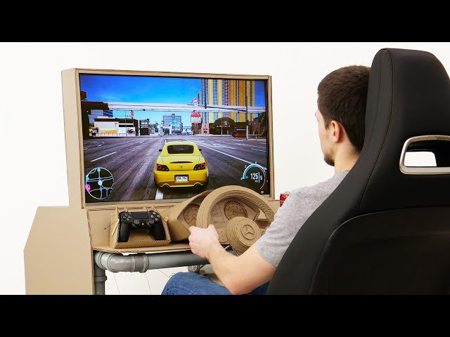 How to Build Sim Racing Cockpit Works with Any Game/Console