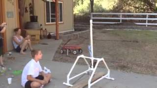 Testing Of The Trebuchet