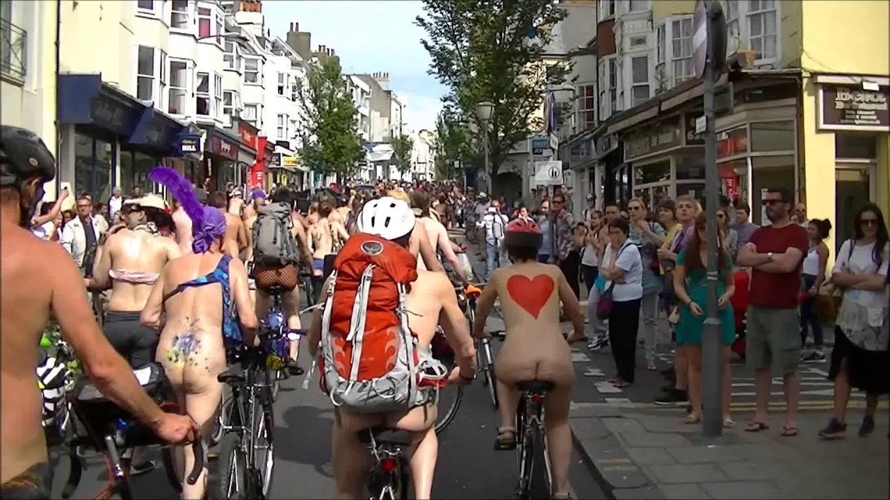 The folkestone world naked bike ride is back but why are people doing it