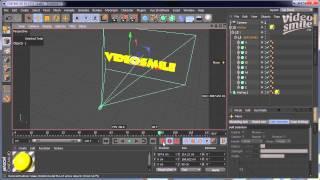 Cinema 4D  Анимация 3D текста в Cinema 4D Уроки 3D