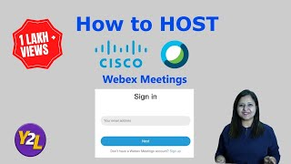 How to host a meeting at Webex ? | Host meeting at Cisco Webex | How to host meeting using Webex ?