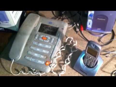 Мои находки Телефонный аппарат и РАДИОТЕЛЕФОНЫ Siemens и PANASONIC KX-TCD586