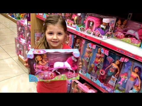 Шопинг в магазине игрушек Новые лошадки