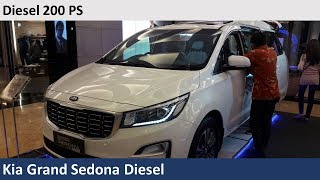 Kia Grand Sedona Diesel (YP) Facelift 2018 review - Indonesia