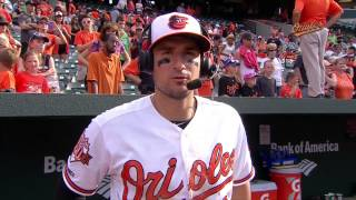 Ryan Flaherty chats about his big day in the Orioles