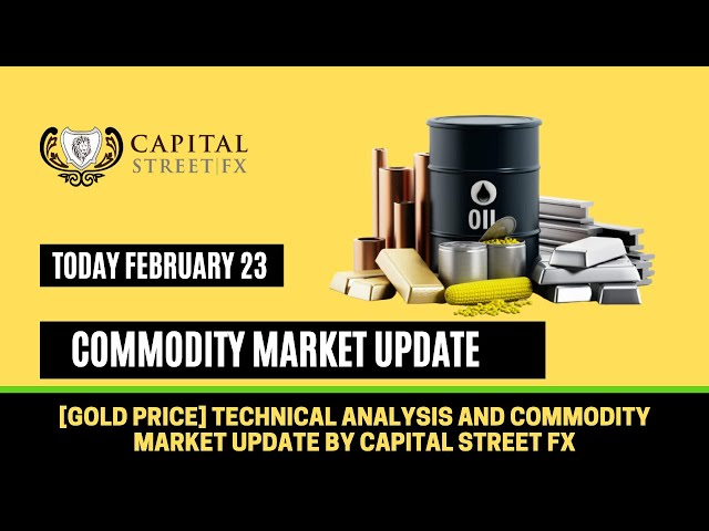 [Gold Price] Technical Analysis and Commodity Market News By Capital Street FX - February 23, 2021