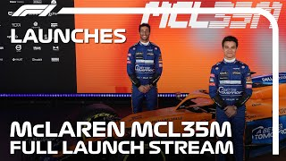 McLaren Reveal Their 2021 Car: The MCL35M