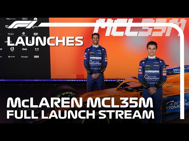 McLaren Reveal Their 2021 Car: The MCL35M