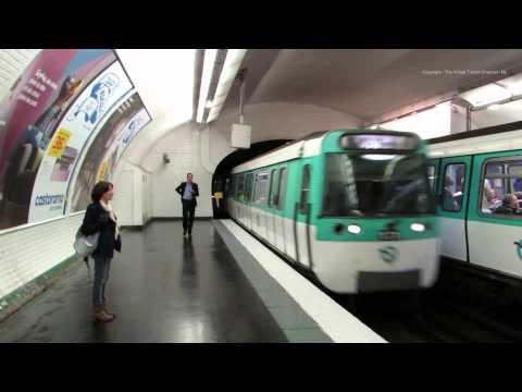 Walk around Opera Metro Station Paris