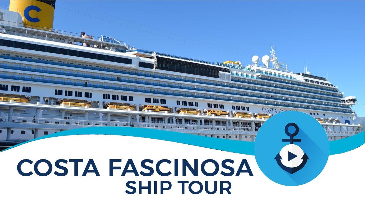 Costa fascinosa ship tour 2015 youtube for Piano nave costa fascinosa