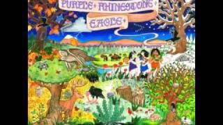 Purple Rhinestone Eagle - Scorpio Moon