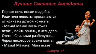 Лучшие смешные анекдоты Выпуск 77