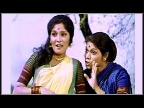 GOMU SANGATINA...SINGER, ASHA BHOSLE/HEMANT KUMAR.., HA KHEL SAVLYANCHA (1976)