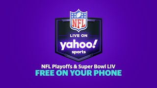 Don't watch that guy inhale nachos, watch free football on Yahoo Sports! screenshot 3