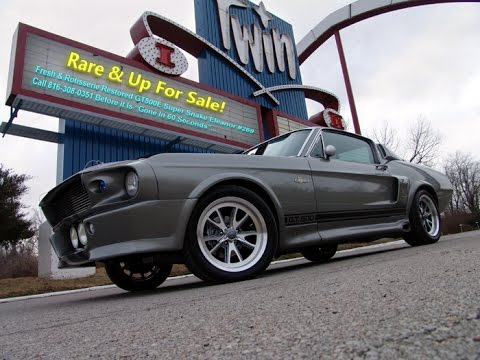 "1967 GT500E Super Snake #269 Shelby ""Eleanor"" World Registry! TRUE GT BIG BLOCK CAR!"
