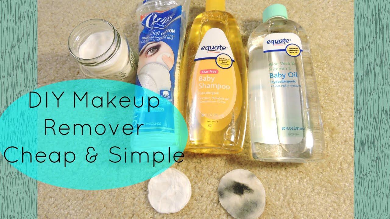 Diy Makeup Remover For Sensitive Acne Prone Skin Youtube
