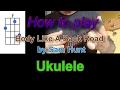 How to play Body Like A Back Road by Sam Hunt Ukulele