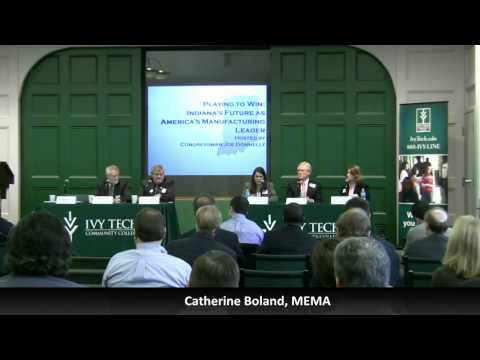 Panel 1 Q&A of Congressman Donnelly's Manufacturing Summit (Part 2 of 4)