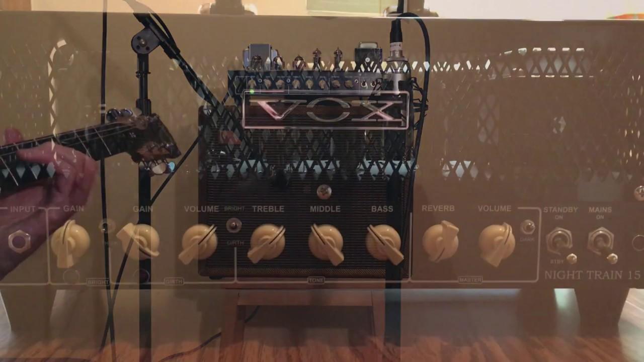 vox night train g2 tube replacement audio comparison youtube. Black Bedroom Furniture Sets. Home Design Ideas