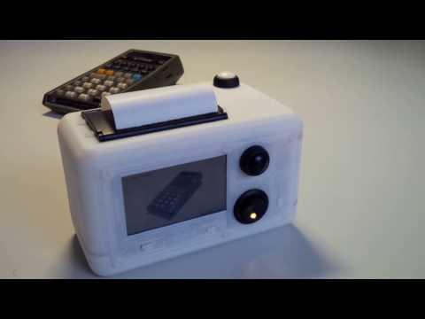 Raspberry Pi Zero Thermal Instant Camera (video)
