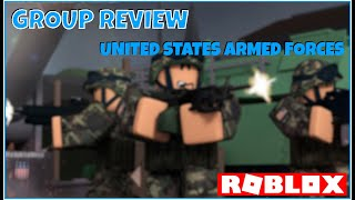 Roblox United States Armed Forces [Group Review]
