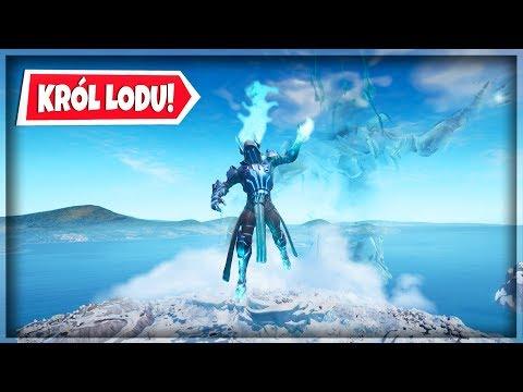KULA LODU WYBUCHA I UWALNIA KRÓLA LODU! EVENT ZIMOWY - Fortnite Battle Royale