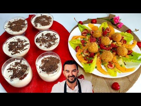 tous-en-cuisine-#61---les-chÈvres-chaud-et-la-mousse-chocolat-blanc-stracciatella-de-cyril-lignac-!