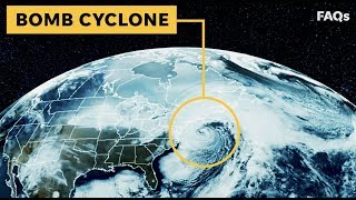 Bomb cyclone: What is this monster of a storm? | Just The FAQs