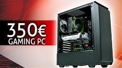 350 Euro GAMING PC 2020 | Der SCHNELLSTE den DU derzeit bauen kannst! | TEST & Zusammenbauen